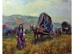 "Картина ""Цыганский табор""."