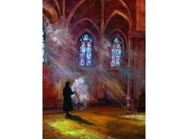 """Картина """"В католическом храме""""."""