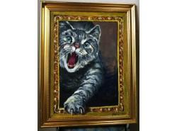 """Картина  """"Ласковый и нежный зверь""""."""