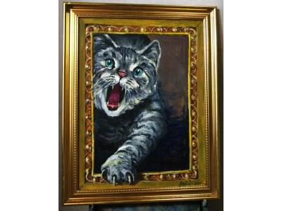 """Картина """"Ласковый и нежный зверь"""""""