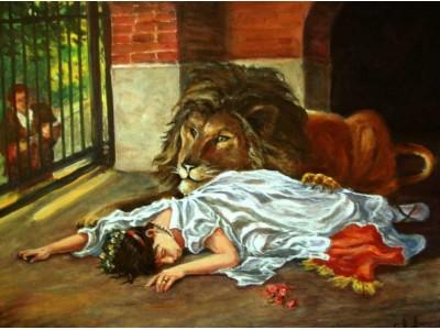 """Картина """"Невеста Льва"""""""