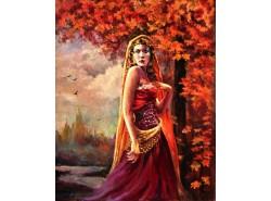 """Картина """"Леди Осень"""""""