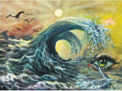 "Картина ""Море слёз""."