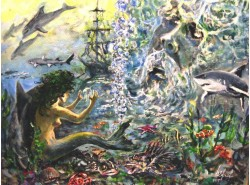 """Картина """"Империя Нептуна""""."""
