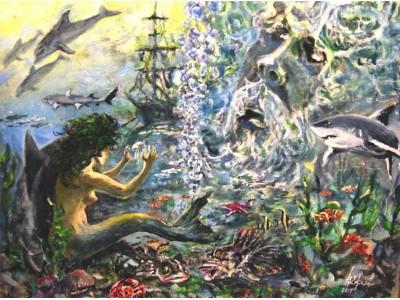 """Картина """"Империя Нептуна"""""""