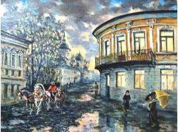 """Картина """"Старая Москва""""."""