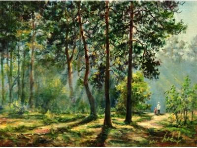 """Картина """"Полдень в лесу"""""""