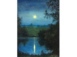 """Картина """"Лунный свет""""."""