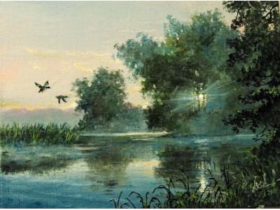 """Картина """"Утренний туман"""""""