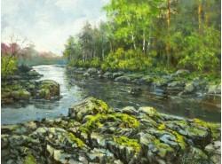 "Картина ""Северная река""."