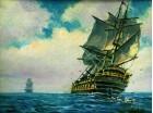 Корабли, парусники.
