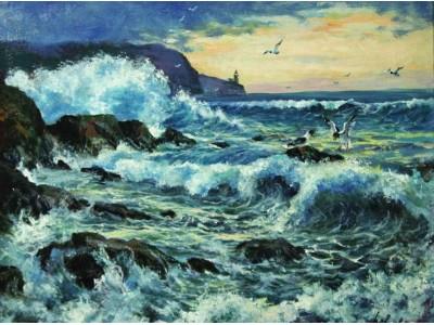 Морской пейзаж.