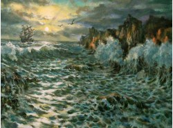 "Картина ""Блеск моря"""