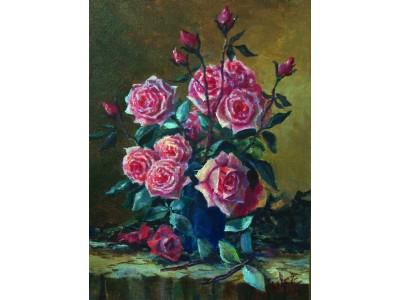 """Натюрморт """"Букет роз""""."""
