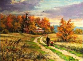 "Картина ""Дорога к храму""."