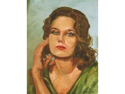 Портрет актрисы Ирины Алфёровой.