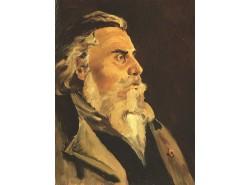 Портрет А. П. Боголюбова (копия, оригинал И.Е.Репин).