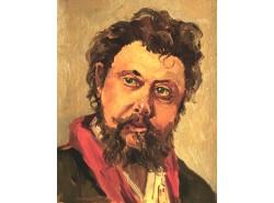 Портрет М. П. Муcоргского (копия, оригинал И.Е.Репин).