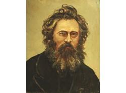 Портрет И.И. Шишкина (копия, оригинал И.Н.Крамской).