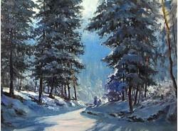 """Картина """"Солнечный зимний день"""""""