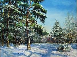 """Картина """"Зимний день"""""""