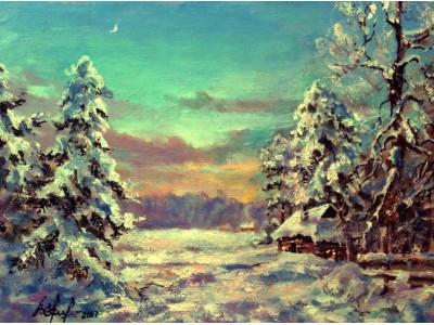 """Картина """"Зимушка-зима"""""""