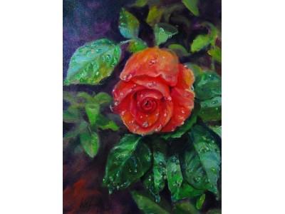 """Картина """"Слёзы розы"""""""
