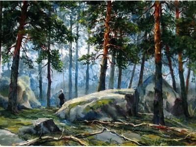"""Картина """"В заповедных лесах..."""""""